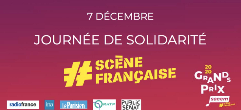 La Sacem organise une journée de solidarité pour la #ScèneFrançaise...
