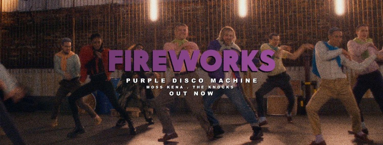 "Release FG : Purple Disco Machine dévoile ""Fireworks"""