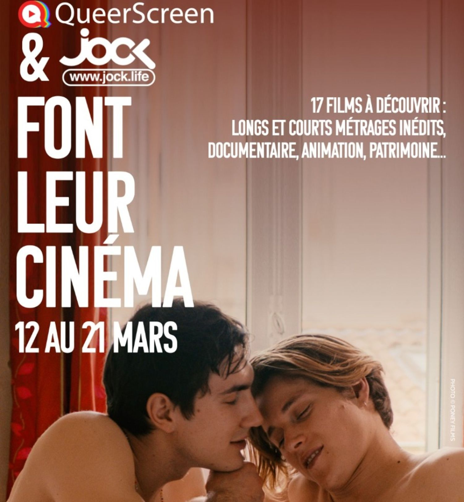 Queerscreen et jock.life organisent un festival de film LGBT+