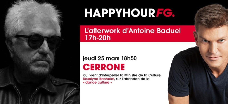 Cerrone invité ce soir!