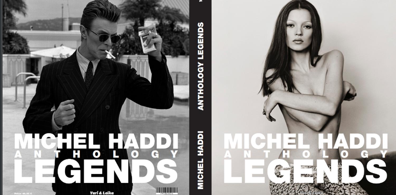 """""""Anthology: Legends"""", le dernier recueil du photographe Michel Haddi"""