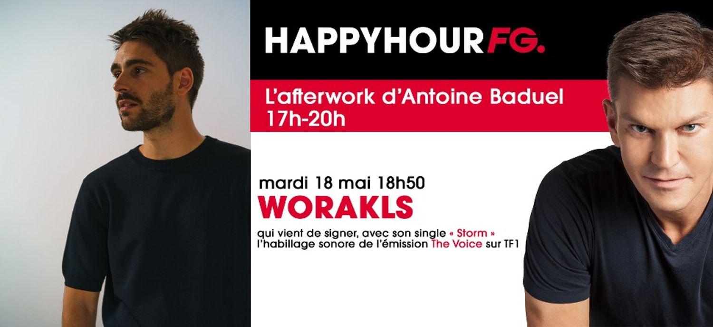 Worakls invité ce soir !