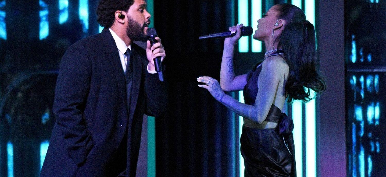 Vidéo Live: The Weeknd & Ariana Grande réunis pour Save Your Tears !