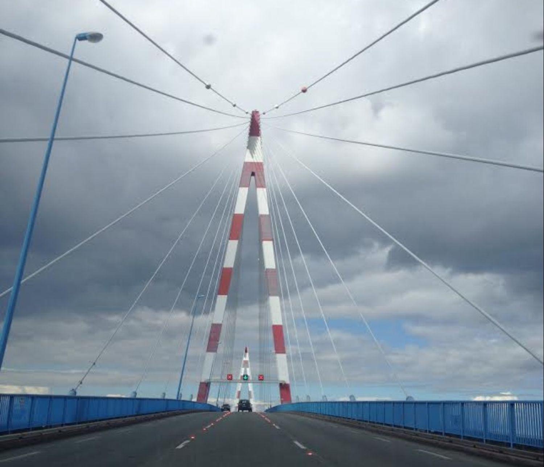 Risque de vents violents : le pont de Saint-Nazaire pourrait fermer...