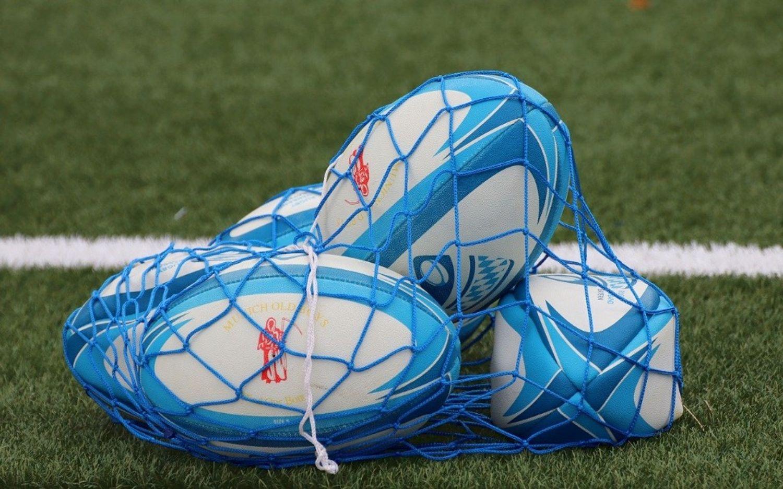 Image d'illustration. Des ballons de rugby.