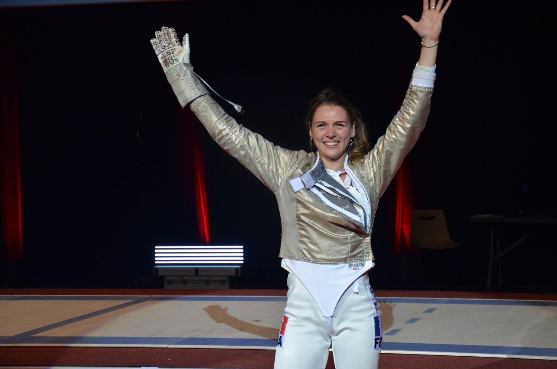 Manon Brunet à Orléans en 2019.