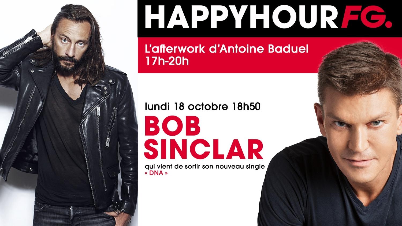 Bob Sinclar, invité ce soir de l'Happy Hour FG !