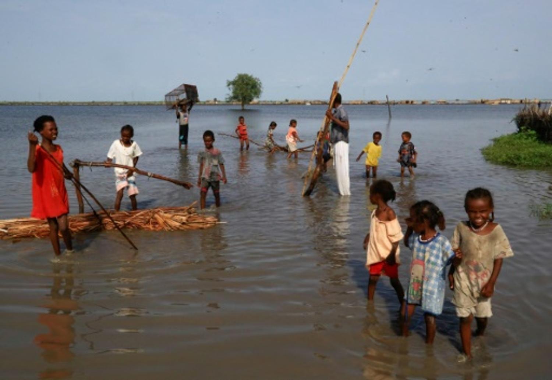 Au Soudan, des réfugiés sud-soudanais jetés à la rue par les inondations