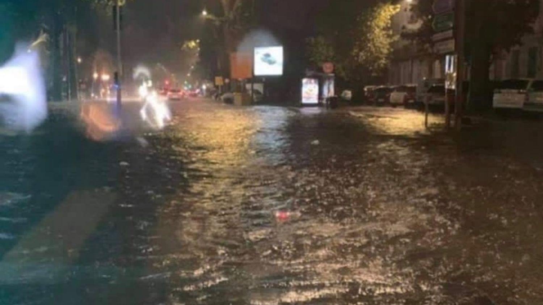 Agen : un orage diluvien déverse des quantités de pluie...
