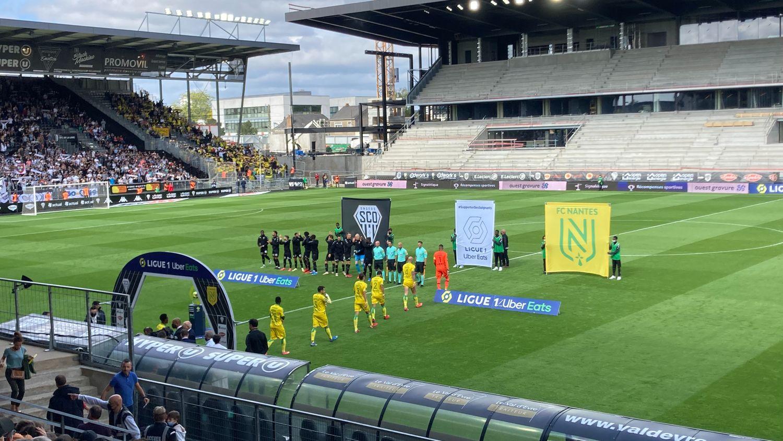 Le FC Nantes s'impose largement à Angers