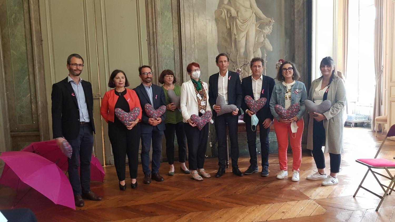 Bordeaux : Mobilisés pour Octobre Rose et le dépistage du cancer du...