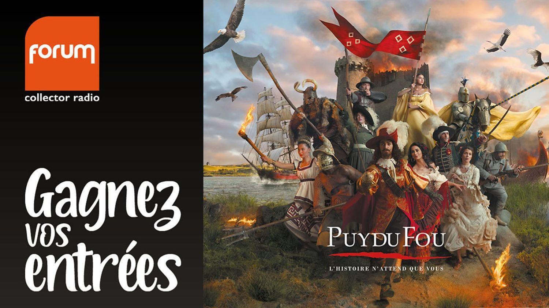 Gagnez vos 4 entrées pour le Puy du Fou