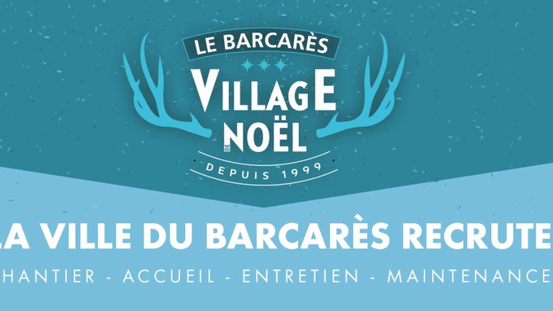 Marché de NOËL, le Barcarès recrute