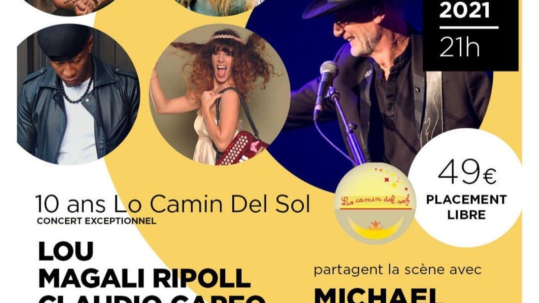CLAUDIO CAPEO et MICHAEL JONES en concert au château l'Hospitalet...