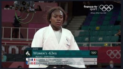 Jeux Olympiques : l'or pour Clarisse Agbégnénou !