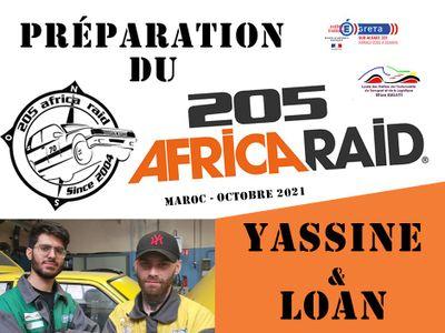 205 Africa Raid avec Greta Sud-Alsace