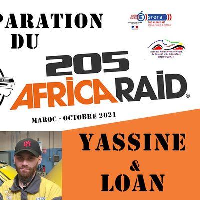205 Africa Raid : suivez le parcours de l'équipe Greta Sud-Alsace