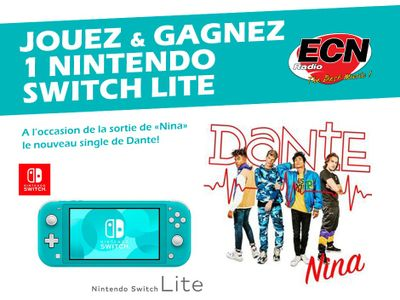 Gagnez une Nintendo Switch Lite !