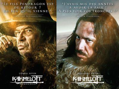 Kaamelot : de nouvelles affiches du film