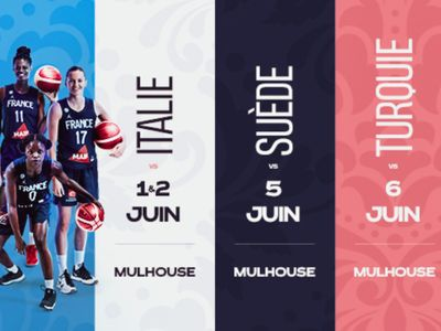 L'équipe de France féminine de Basket à Mulhouse