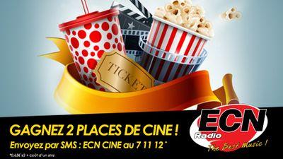 Gagnez 2 places de ciné avec Radio ECN