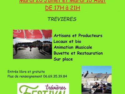 MARCHÉ D'ÉTÉ EN NOCTURNE - Trévières