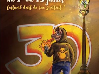 Du 1er au 13 juillet : 30ème festival des Virevoltés !