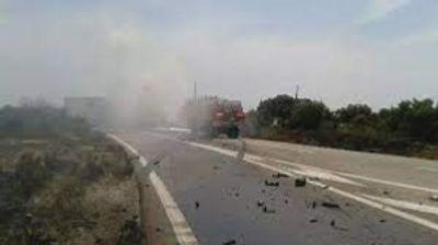 [ FAIT DIVERS ] Accident à Fos-sur-Mer: Un chauffeur poids-lourd...