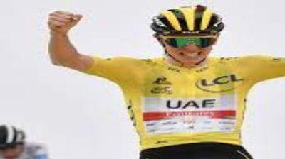 [ SPORT ] Cyclisme/Tour de France: Pogacar s'impose avec le maillot...