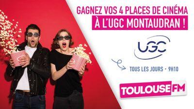 4 places au nouveau cinéma UGC à Montaudran