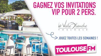 Vos invitations VIP à La Voile Blanche de Toulouse
