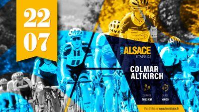 Tour Alsace 2021 : Colmar-Altkirch au programme du peloton ce jeudi