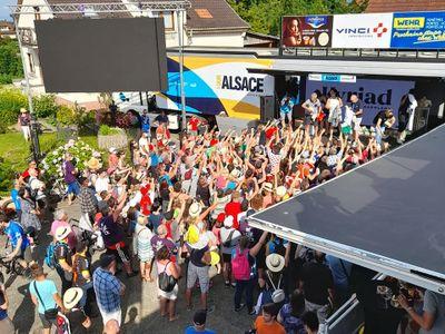 Tour Alsace 2021 : clap de fin et bilan avec l'organisateur Francis...