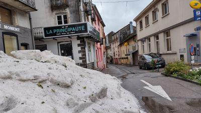 Intempéries : un violent orage de grêle s'abat sur les Vosges