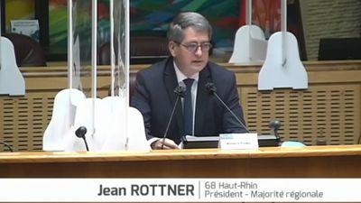 Politique : Jean Rottner réélu Président de la Région Grand Est