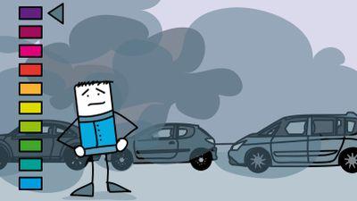 Pic de chaleur : un épisiode de pollution à l'ozone dans le...