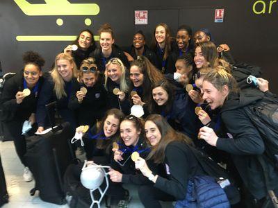 Le retour des championnes d'Europe à Nantes