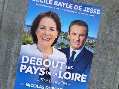 Régionales : Nicolas Dupont-Aignan vient soutenir sa candidate...