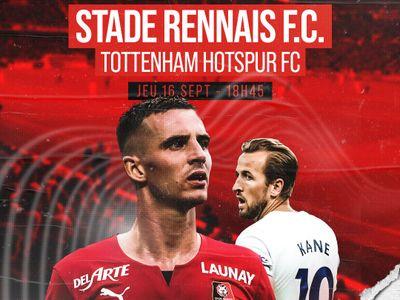 Le Stade Rennais face à Tottenham