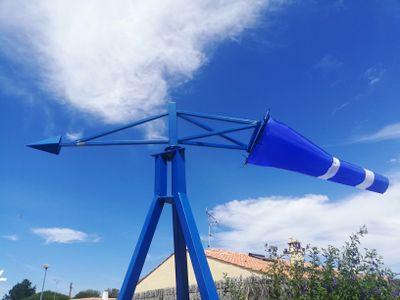 Carte Postale : le Jardin du vent à Notre-Dame-de-Monts