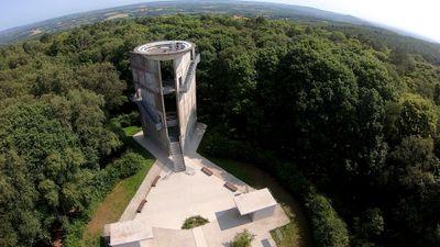 Carte Postale : Le Mont des Avaloirs en Mayenne