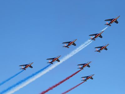 La Patrouille de France sera à Perros-Guirec le 27 août 2021.