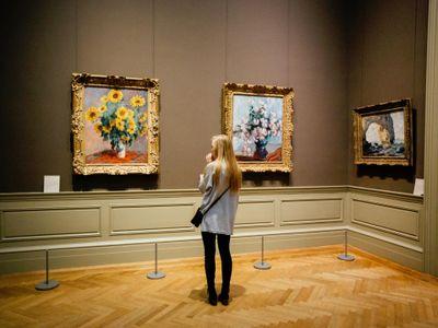 Ouverture de l'exposition d'été au Musée des Beaux-Arts à Quimper.