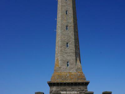Montée du phare d'Eckmühl à Penmarc'h.