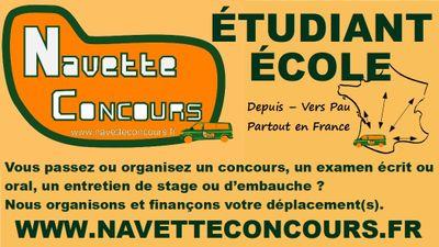 LANCEMENT DU SERVICE NAVETTE CONCOURS