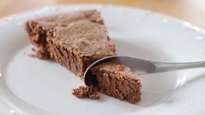 Un gâteau au chocolat ... sans beurre !