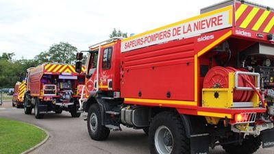 Des pompiers régionaux en renfort feux de forêt dans le Sud