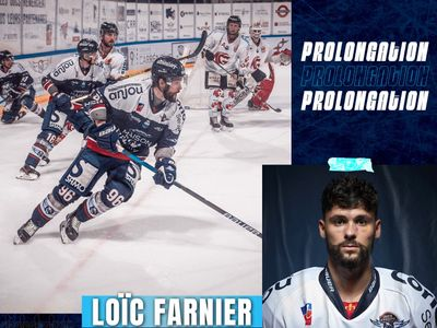 Les Ducs d'Angers prolongent Loïc Farnier