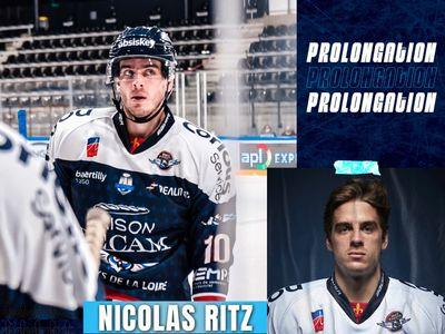 Nicolas Ritz prolonge chez les Ducs d'Angers