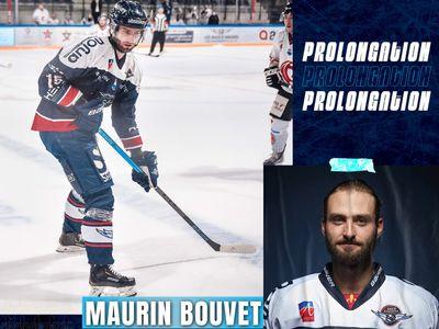 Deuxième saison chez les Ducs d'Angers pour Maurin Bouvet